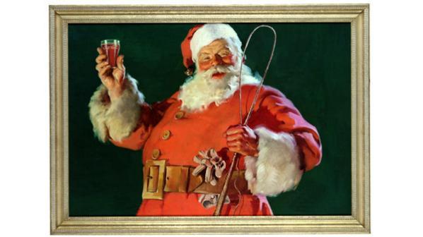 Il Babbo Natale.Perche Il Vestito Di Babbo Natale E Rosso Coca Cola Italia